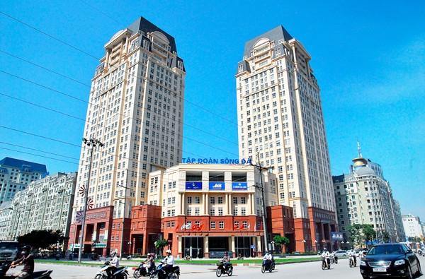 Tổng công ty Sông Đà tiền thân là Tập đoàn Sông Đà.