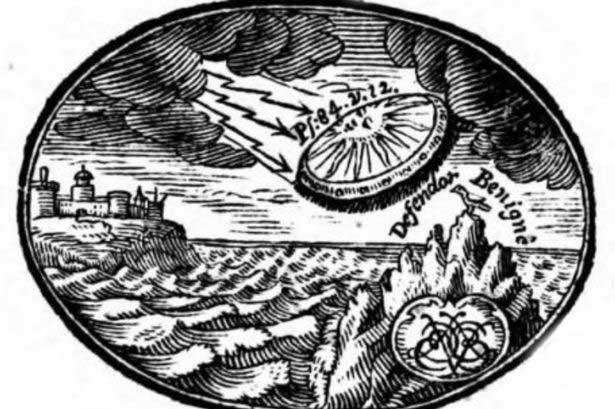 tương lai, sách cổ, bí mật, sách cổ thế kỷ 18, đĩa bay