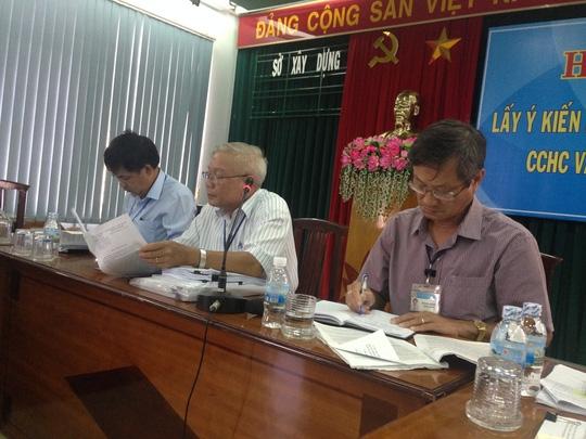 Lãnh đạo Sở Xây dựng họp công bố thông tin liên quan đến sai phạm của Mường Thanh Khánh Hòa