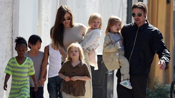 ngelina Jolie - Brad Pitt chia tay 7