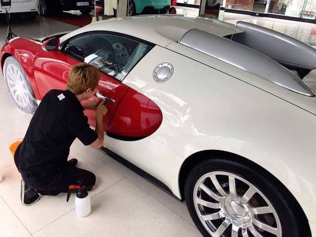 """Chuyên gia Nhật """"tút"""" lại Bugatti Veyron của Minh """"nhựa"""" trước khi bán - ảnh 1"""