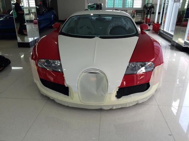 """Chuyên gia Nhật """"tút"""" lại Bugatti Veyron của Minh """"nhựa"""" trước khi bán - ảnh 6"""