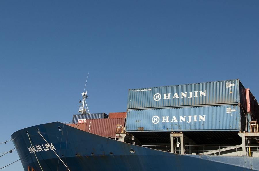 Image result for hãng tàu hanjin