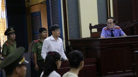Đại gia M. tại phiên toà sơ thẩm