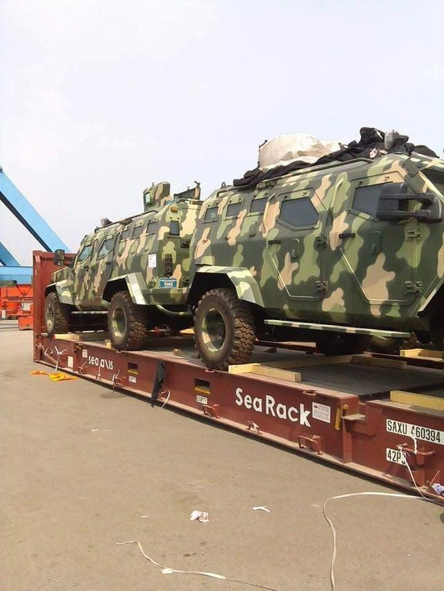 Dàn xe IAG 4x4 Guardian Tactical tại cảng Green Port - Hải Phòng.