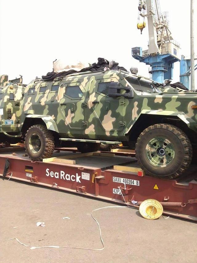 Cận cảnh xe chuyên dụng IAG 4x4 Guardian Tactical.