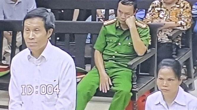 Bị cáo Nguyễn Hữu Vinh tại phiên tòa phúc thẩm /// Thái Uyên