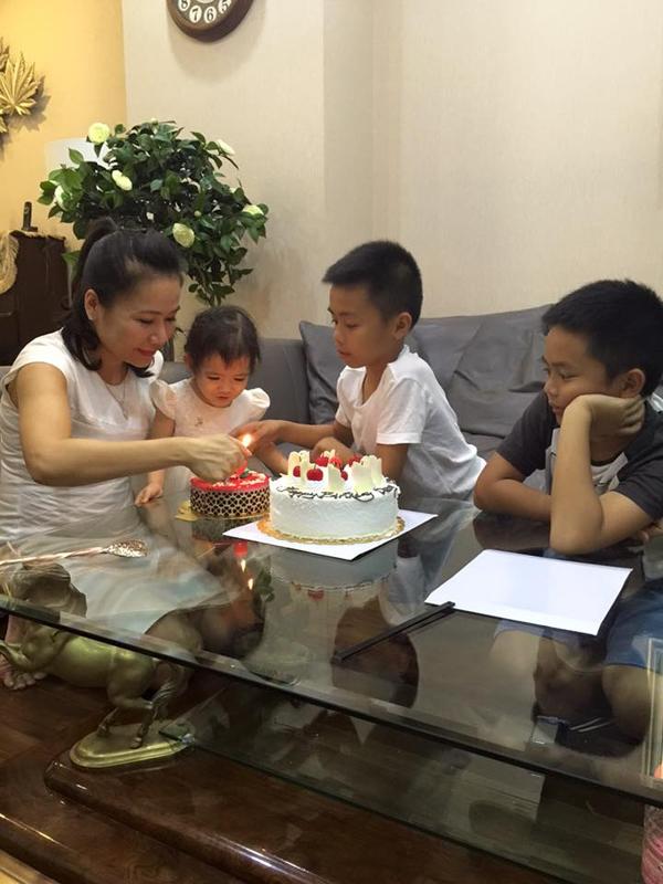 Vợ đại gia kim cương khoe ảnh sinh nhật con gái út.