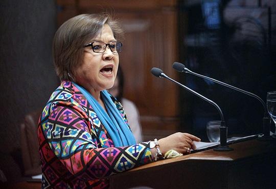 Thượng nghị sĩ Philippines Leila De Lima. Ảnh: philstar