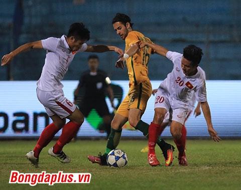U19 Việt Nam chưa thể tận dụng cơ hội thành công - Ảnh: Đức Cường
