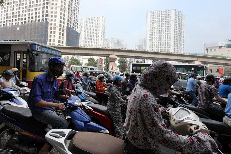 giao thông Hà Nội, giải pháp cho giao thông Hà Nội, ùn tắc, tắc đường Hà Nội