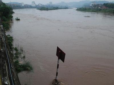 Lũ từ Trung Quốc đổ về, nước sông Hồng dâng cao bất thường