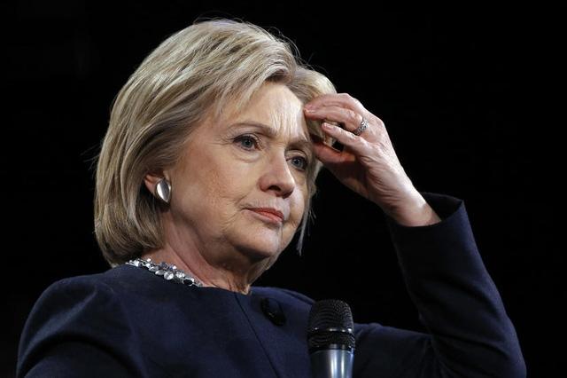 Cựu Ngoại trưởng Mỹ Hillary Clinton, ứng viên tổng thống đảng Dân chủ. (Ảnh: Getty)