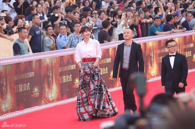 Dàn sao Hoa ngữ tề tựu thảm đỏ LHP Kim Kê Bách Hoa lần thứ 25 - Ảnh 18.