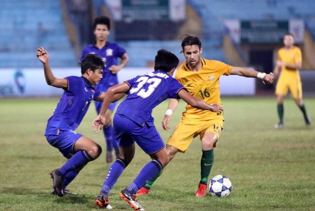 U19 Australia (vàng) vô địch giải U19 Đông Nam Á