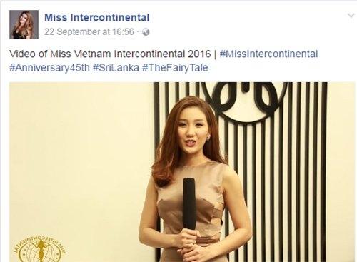 Hoa hậu nói tiếng anh dở, Hoa hậu kém tiếng anh, nói tiếng anh dở, tiếng anh kém, hoa hậu Bảo Như, Á hậu Biển Hoa hậu Việt Nam, Hoa hậu Liên lục địa, Miss Intercontinental