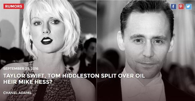 Taylor Swift chia tay Tom Hiddleston là để hẹn hò thiếu gia dầu mỏ? - Ảnh 1.