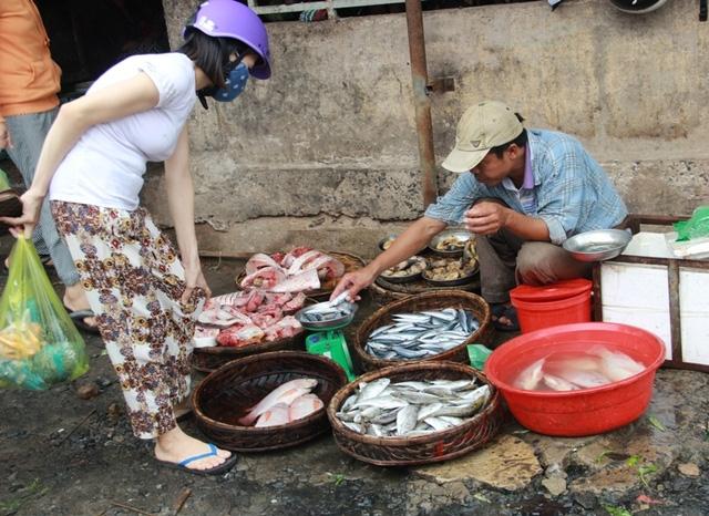 Chỉ số ít người dân chọn mua cá biển sau khi có kết luận của Bộ Y tế