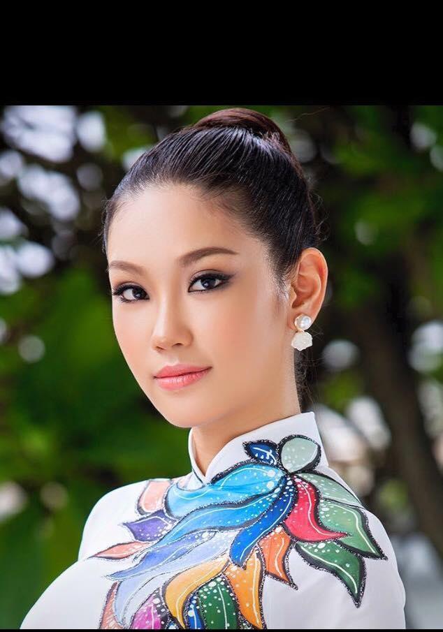 Á khôi Phạm Ngọc Phương Linh hiện là sinh viên ĐH Y Khoa Phạm Ngọc Thạch. Ảnh: NVCC.
