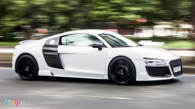 Audi R8 do po Akrapovic tai Sai Gon hinh anh 2
