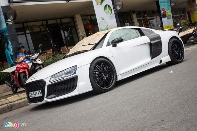 Audi R8 do po Akrapovic tai Sai Gon hinh anh 3