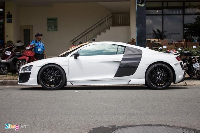Audi R8 do po Akrapovic tai Sai Gon hinh anh 5