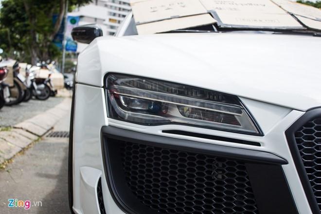 Audi R8 do po Akrapovic tai Sai Gon hinh anh 6