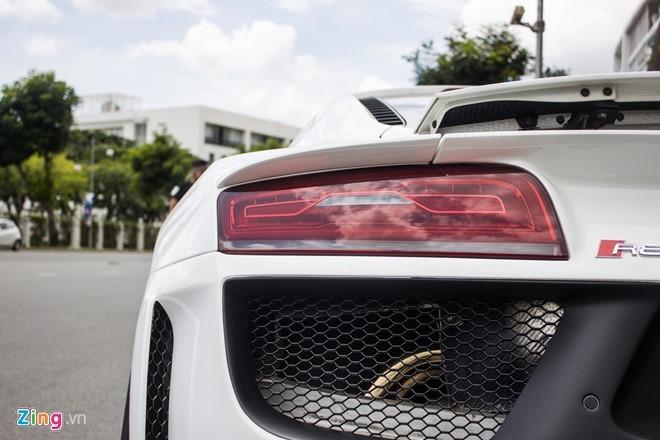 Audi R8 do po Akrapovic tai Sai Gon hinh anh 7