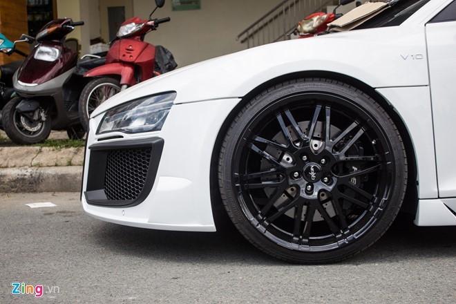 Audi R8 do po Akrapovic tai Sai Gon hinh anh 9