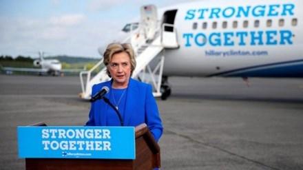 Ứng viên Tổng thống Mỹ đảng Dân chủ Hillary Clinton