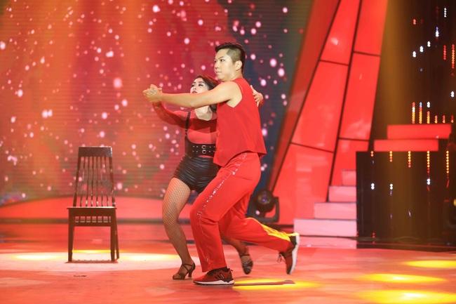 Bước nhảy ngàn cân: Noo Phước Thịnh hờn thí sinh dùng hình mình như... hình thờ - Ảnh 6.