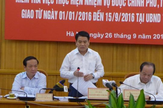 Chủ tịch UBND TP Hà Nội Nguyễn Đức Chung cho biết năm 2016 đã tiết kiệm được 708 tỉ đồng tiền cắt cỏ