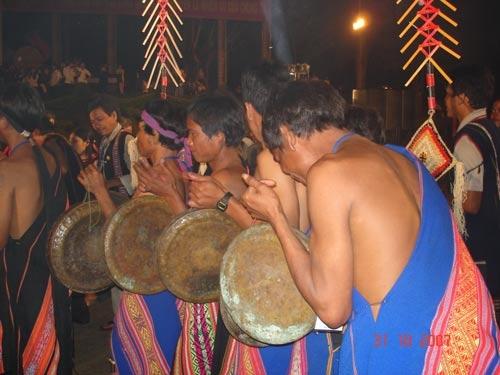 Một nghi lễ của đồng bào thiểu số ở Gia Lai