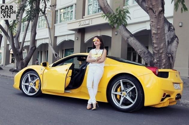 Ferrari 458 Italia yêu thích của nữ đại gia trẻ tuổi - Ảnh: Carfresh