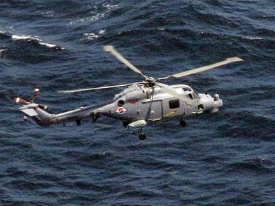 Trực thăng Hàn Quốc rơi khi tập trận thị uy Triều Tiên