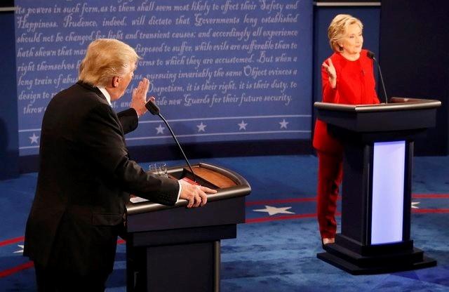 100 trieu luot nguoi xem Trump dau khau voi Clinton hinh anh 11