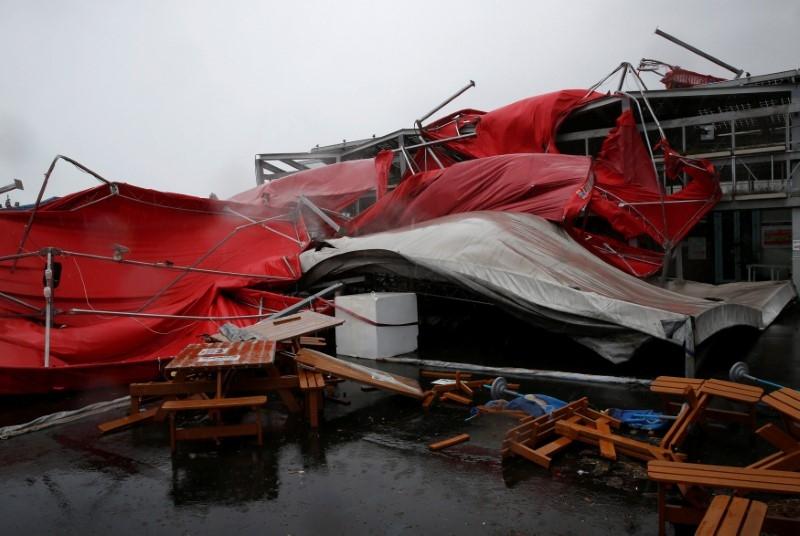 Bão Megi đổ bộ Đài Loan: Ít nhất 4 người thiệt mạng, 167 người bị thương - ảnh 1