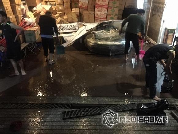 Đàm Vĩnh Hưng thiệt hại sau mưa lũ  4