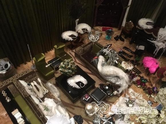 Đàm Vĩnh Hưng thiệt hại sau mưa lũ  5