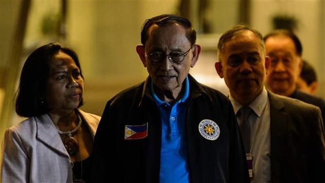 Ông Fidel Ramos, đặc phái viên của Tổng thống Philippines. (Ảnh: AFP)