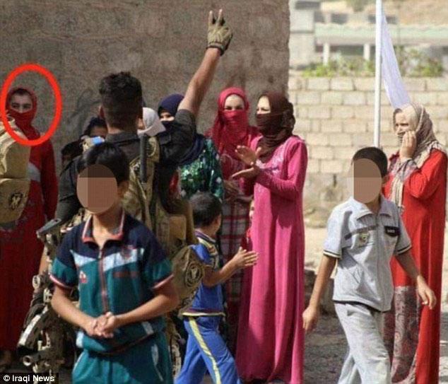 IS, thủ lĩnh IS, IS ở Iraq, giả gái