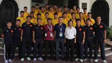 VFF thưởng ĐT U16 Việt Nam 400 triệu đồng