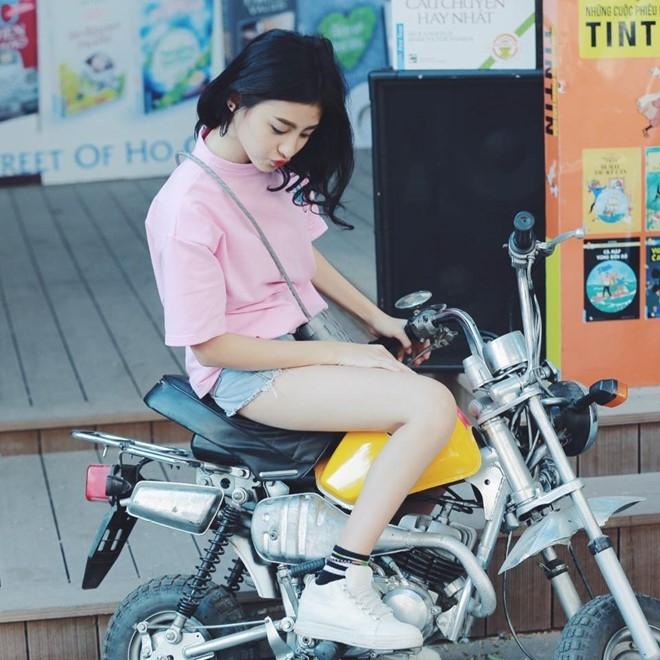 9X lai Phap duoc coi nhu ban sao hot girl Kha Ngan hinh anh 9
