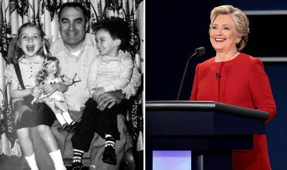 Bà Clinton nhắc đến người cha quá cố trong cuộc tranh luận trực tiếp. (Ảnh: Getty)