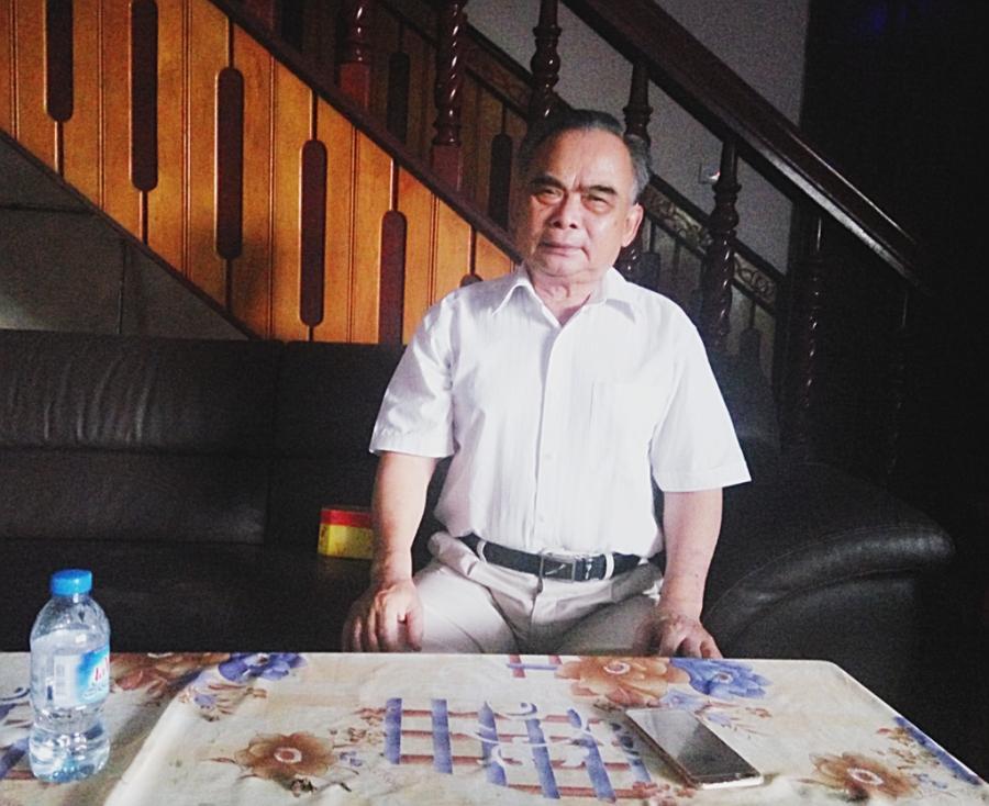 Chủ tịch Vinaxuki ông Bùi Ngọc Huyên - Ảnh: KL