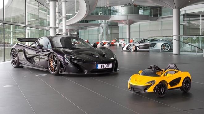 McLaren P1 mui tran chay dien cho tre me sieu xe hinh anh 4