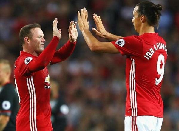 Mourinho, Ibrahimovic, Rooney, MU, Man United, EUROPA League, Premier League, ngoại hạng Anh