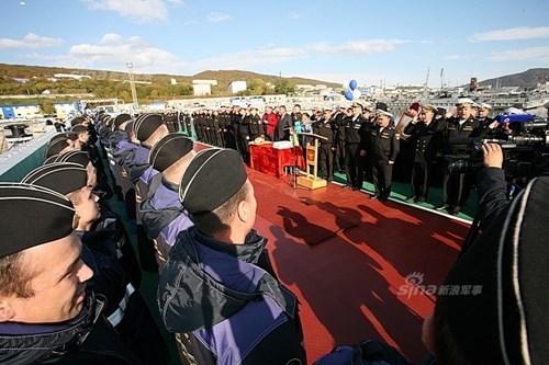 [ẢNH] Nga tăng viện cho Hạm đội Thái Bình Dương - ảnh 9