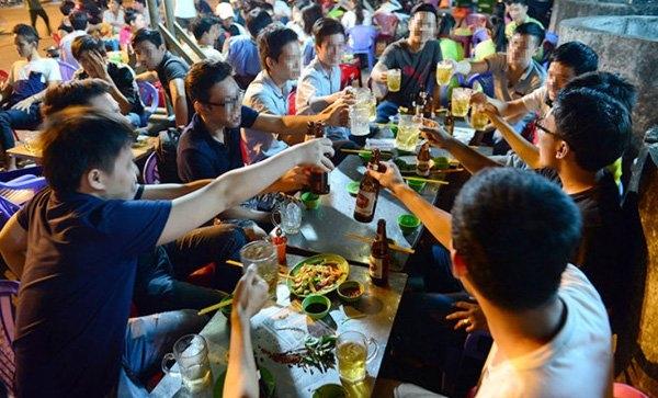 rượu bia, tác hại rượu bia, nghiện rượu, loạn thần do rượu
