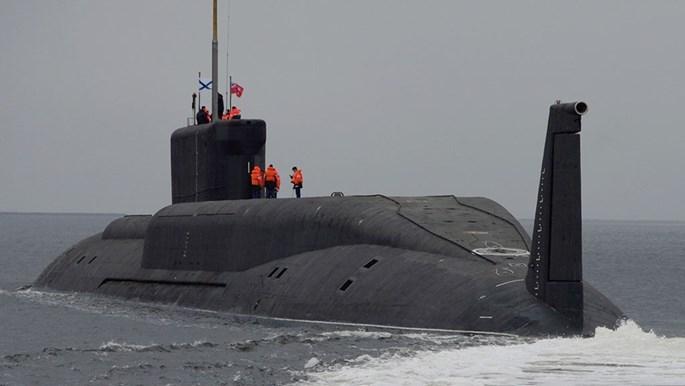 Tàu ngầm hạt nhân Nga phóng thử 2 tên lửa Bulava, thất bại 1 - ảnh 3
